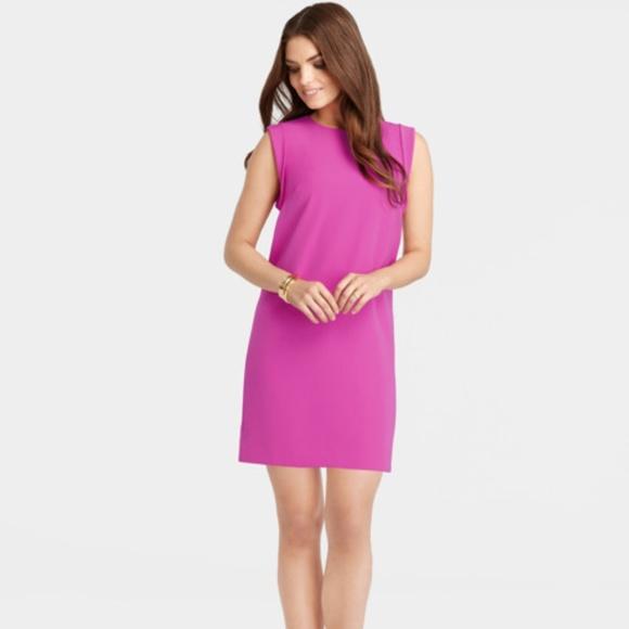 Ann Taylor Dresses & Skirts | ANN TAYLOR Pink Deconstructed Sheath ...
